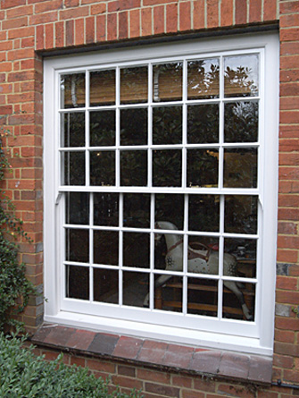 18 over 18 sliding sash window