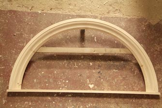 moulded architraeve